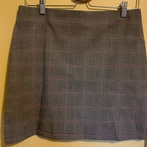 Dresses & Skirts - Plaid Mini Skirt